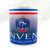 Football Fans supplies France mug cup for coffee soccer souvenir ceramic tea cup Football & Soccer water cup