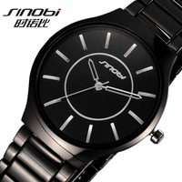 Fashion Sinobi lovers couple round pointer watches commercial quartz watch for man or women free shipping