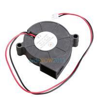 O3T# 5015S 5V 0.1-0.3A Black Brushless DC Cooling Blower Fan 50x15mm