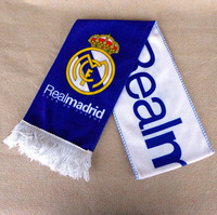 Real Madrid scarf fan scarves jewelry cotton scarf pendant