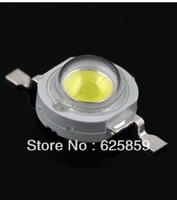 180lm-200lm High Power Taiwan Epistar 1w  3W LED Chip LED Bulb Lamp Beads / Pure Cool White Warm White / with aluminum heat