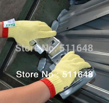 Drop shipping 0077 M size Kevalr Anti-cut Anti-tear gloves CE EN388 certificate