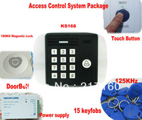 RFID Proximity access control systems package+15 pieces EM card +free shipping+1000 user