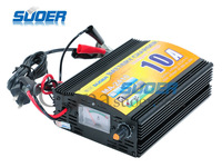 Wholesale 1pcs 24v/10Amps battery chargers with display high quality portable battery charger/ Free shipping !