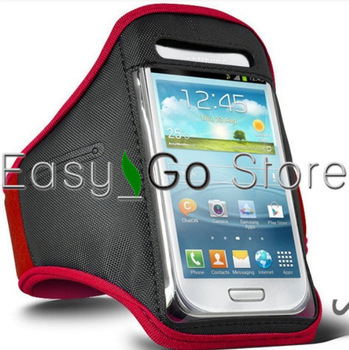 50pcs Sports Armband Workout Jojjing Armband Case Holder For Samsung Galaxy S3 mini i8190,Fedex EMS DHL Free Shipping