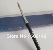 provide all kinds nail art,cosmetics acrylic brush high quality nails gel brush 10#