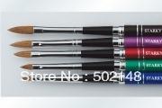 Nail Art Kolinsky Brush\oval kolinsky acrylic nail brush10#