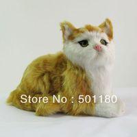 free shipping handmade gift animal craft cat