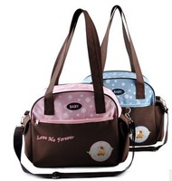 High quality large capacity multifunction baby bag,mommy single-shoulder bag,two colors,free shipping