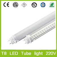 FEDEX Free shipping LED Tube Light T8 1.2M 1200mm 18W SMD 3014 160leds 1200lm lamp bulb Pure White warm white lighting