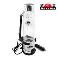 Free Shipping Car Electric Heating Cup Car Hot Water Cup Heated Cup Car Vacuum Cup Kettle, Car Accessories