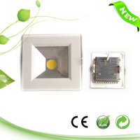 7W Small Square ultra-thin COB LED panel 110mm 11cm 4 inch , 540LM,110V/220V,