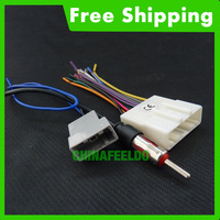 CAR AUDIO WIRING HARNESS STEREO WIRE WITH RADIO ANTENNA ADAPTER For NISSAN  #J-1647