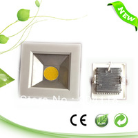 10W Small Square ultra-thin COB LED panel 155mm, 900LM,110V/220V,