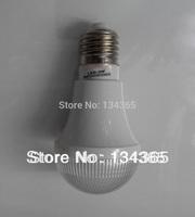5pcs/lot 220V(50-60HZ) E27 LED bulb 3W cool white light plastic housing