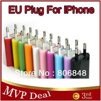 DHL /FEDEX Free Shipping 1000pcs/lot EU Plug USB Power Home Wall Charger Adapter For iPhone 5 4 4S 3GS iPod EU Plug