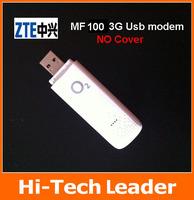 Free shipping unlocked ZTE MF100 USB Modem  hsdpa usb modem  ZTE 3g usb modem  HSDPA  MODEM 2PCS/Lot