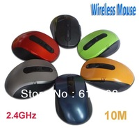RF 2.4GHz Portable Optical Wireless Mouse USB Receiver 6 Keys 500/1000dpi Low Price + Fast shipping