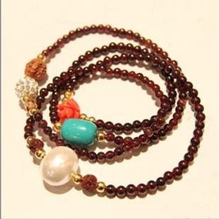 Exquisite accessories girls popular gift multi-layer bracelet female