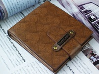 new 2013 fahion men's wallets men wallet genuine leather brand  genuine leather vintage id vallet free shipping