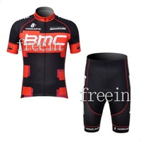 2012New BMCTeam cycling Jersey + Short S to 3XL Free Shipping(accept customize and mix buy )