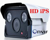 TI IPS 720P H.264 Waterproof 6mm Varifocal Outdoor 2pcs Array LED IP Bullet Security Cameras
