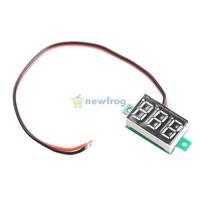 Mini Digital Voltmeter DC0-100V Blue Light LED Panel Voltage Meter   S7NF