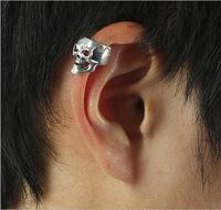 vintage skull ear clip U wearing ear bones do not need a ear hole earrings
