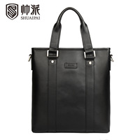 Commercial 2013 male cowhide handbag messenger bag briefcase spt1313