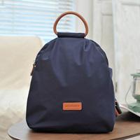 2013 autumn pd nylon women's leather handbag trend backpack handbag bag light