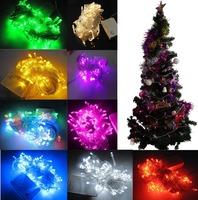 Christmas Party String Light flash lamp Xmas Wedding 8.5M 220V 100 LED US Plug 82321-82329