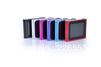 New Clip 6th MP3 Player with Micro SD Card Slot FM Radio+Voice Recorder 16 Languages 9 colors