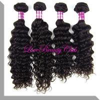 Mixed 3pcs/lot AAAAA grade quality peruvian hair deep wave weave, peruvian hair extension ,100g/pcs fast shipping