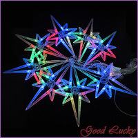 4M 8 LED Stat Multi-color Xmas Light Wedding Party Outdoor String Fairy Lights ZWQ10128