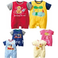 wholesale kids wear turtle toddle romper frog baby romper bunny infant romper,24sets/lot(1T-3T)6 designs free shipping
