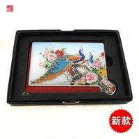 Chinese style makeup mirror broken hand mirror unique gift