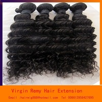 Free Shippiing Brazilian Virgin Hair Extension 4A Unproess Cheap Human Remy Hair Weft Curly Deep  2pcs 100g/pc 10--34""
