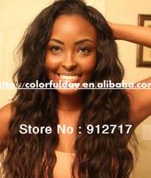 10inch~24inch 100%virgin brazilian hair u part wig free shipping