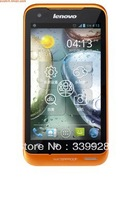Free shipping Lenovo A660 3 g phones (orange) vigor WCDMA/GSM double card double stay