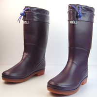 Free shipping 2012 WARRIOR gaotong waterproof thermal Women rain boots cotton 8123