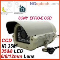 Heating waterproof  EFFIO-E 700TVL HD 960H nightvision Security CCTV surveillance bullet camera+FREE SHIPPING