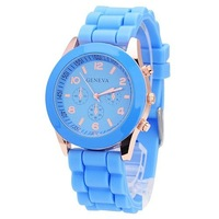 Free Shipping Hot sale New Fashion Designer Ladies sports brand silicone watch jelly watch 10 colors quartz watch for women men