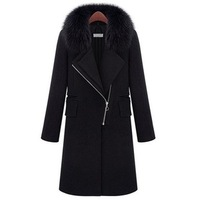 2013 New Women's Winter Wool Coat Fashion Female Outerwear Hot Selling Cashmere Coat women's coat
