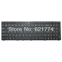 New Laptop Keyboard With Frame for Asus K60 K62F K62JR K60IC K60IJ K60IL K60IN K61 K61IC Series Notebook US Layout Free Shipping