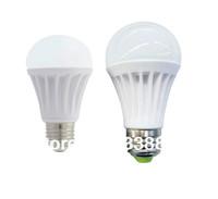 High Power 5w 7w 8w 9w 10w LED Bubble Ball Bulb Lamp E27 B22 E26 Ceramic Heatsink Free Shipping 50pcs/lot