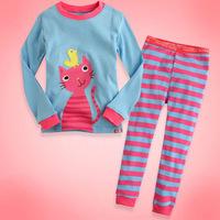 Free shipping 6sets/lot pyjamas for boys girls pyjamas children's pyjamas children sleepwear