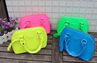 Retail 1Pcs Baby Bag Girls Accessories children's shell handbag PU Mini Bag Tote Handbag For Girls Baby Kids  Free Shipping