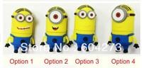 Wholesale real capacity  Cute USB Flash Drives 8GB 7 colors Footprints usb flash memory usb flash drive