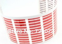 Free Ship 1pcs 114*30cm Flashing Music Rhythm car Light Stickers Equalizer Color Light LED Sound Music Activated car light Red