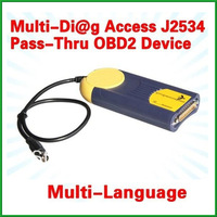 2013 Highly Recommende Actia multidiag multi diag access passthru xs j2534 with Free Shipping